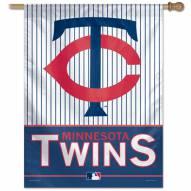 "Minnesota Twins 27"" x 37"" Banner"