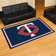Minnesota Twins 5' x 8' Area Rug