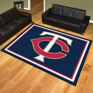 Minnesota Twins 8' x 10' Area Rug