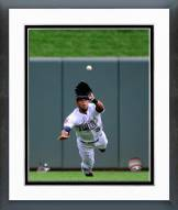 Minnesota Twins Aaron Hicks 2014 Action Framed Photo