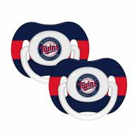 Minnesota Twins Pacifiers - 2 Pack