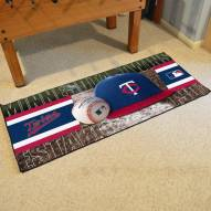 Minnesota Twins Baseball Runner Rug
