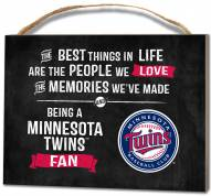 Minnesota Twins Best Things Small Plaque