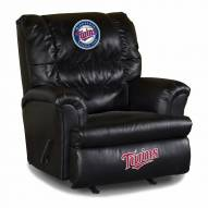Minnesota Twins Big Daddy Leather Recliner
