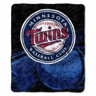 Minnesota Twins Big Stick Sherpa Blanket