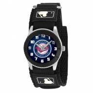 Minnesota Twins Black Rookie Kids Watch