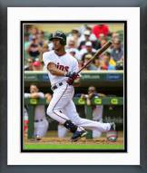 Minnesota Twins Byron Buxton 2015 Action Framed Photo