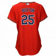 Minnesota Twins Byron Buxton Women's Replica Scarlet Alternate Baseball Jersey