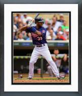 Minnesota Twins Danny Santana 2014 Action Framed Photo