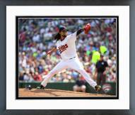 Minnesota Twins Ervin Santana 2015 Action Framed Photo