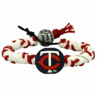 Minnesota Twins Frozen Rope Baseball Bracelet
