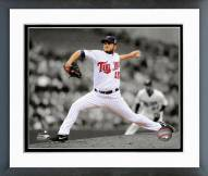 Minnesota Twins Glen Perkins 2014 Spotlight Action Framed Photo