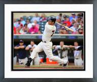 Minnesota Twins Joe Mauer 2014 Action Framed Photo