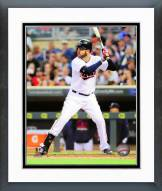 Minnesota Twins Joe Mauer 2015 Action Framed Photo