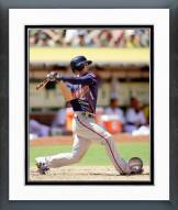 Minnesota Twins Jordan Schafer 2014 Action Framed Photo