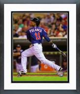 Minnesota Twins Jorge Polanco 2014 Action Framed Photo