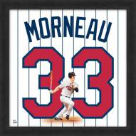 Minnesota Twins Justin Morneau Uniframe Framed Jersey Photo