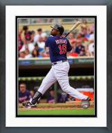 Minnesota Twins Kennys Vargas 2014 Action Framed Photo