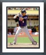 Minnesota Twins Kurt Suzuki 2014 Action Framed Photo
