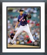 Minnesota Twins Kyle Gibson 2014 Action Framed Photo