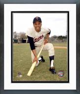 Minnesota Twins Leo Cardenas Kneeling with a Bat Framed Photo