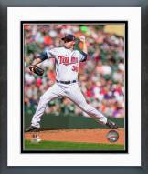 Minnesota Twins Logan Darnell 2014 Action Framed Photo
