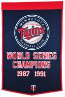 Minnesota Twins Major League Baseball Dynasty Banner