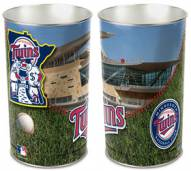 Minnesota Twins Metal Wastebasket