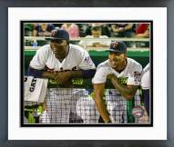 Minnesota Twins Miguel Sano & Byron Buxton 2015 Action Framed Photo