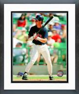 Minnesota Twins Mike Pagliarulo Action Framed Photo
