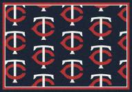 Minnesota Twins MLB Repeat Area Rug