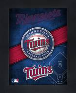 Minnesota Twins Framed 3D Wall Art