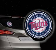 Minnesota Twins Light Up Power Decal