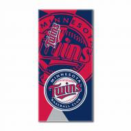 Minnesota Twins Puzzle Beach Towel