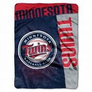 Minnesota Twins Strike Raschel Throw Blanket