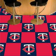 Minnesota Twins Team Carpet Tiles