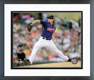 Minnesota Twins Tommy Milone 2014 Action Framed Photo