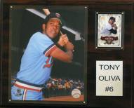 "Minnesota Twins Tony Oliva 12"" x 15"" Player Plaque"