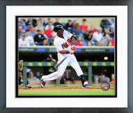 Minnesota Twins Torii Hunter 2015 Action Framed Photo