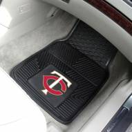 Minnesota Twins Vinyl 2-Piece Car Floor Mats