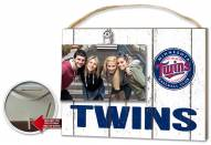 Minnesota Twins Weathered Logo Photo Frame