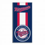 Minnesota Twins Zone Read Beach Towel
