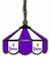 "Minnesota Vikings 14"" Glass Pub Lamp"