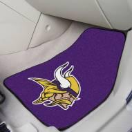 Minnesota Vikings 2-Piece Carpet Car Mats