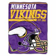 Minnesota Vikings 40 Yard Dash Blanket