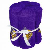 Minnesota Vikings 6 Pack Washcloths