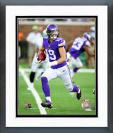 Minnesota Vikings Adam Thielen 2014 Action Framed Photo
