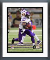 Minnesota Vikings Adrian Peterson 2014 Action Framed Photo