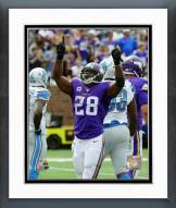 Minnesota Vikings Adrian Peterson 2015 Action Framed Photo