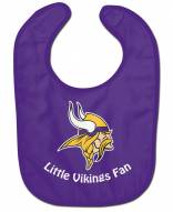 Minnesota Vikings All Pro Little Fan Baby Bib